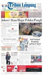 Tribun Lampung Cover 15 July 2019