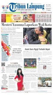 Cover Tribun Lampung 17 Juli 2019