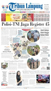 Tribun Lampung Cover 18 July 2019