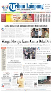 Tribun Lampung Cover 19 July 2019