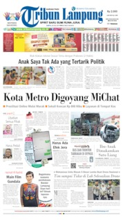 Tribun Lampung Cover 20 July 2019