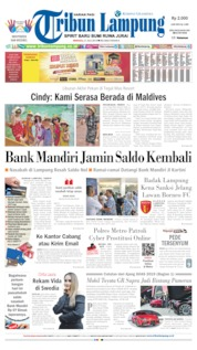 Tribun Lampung Cover 21 July 2019