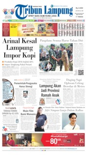 Tribun Lampung Cover 24 July 2019