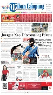 Tribun Lampung Cover 13 August 2019