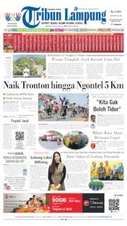 Cover Tribun Lampung 20 Agustus 2019