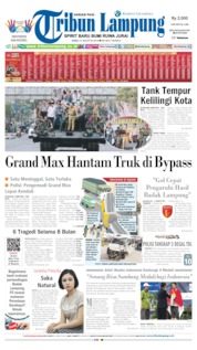 Tribun Lampung Cover 21 August 2019