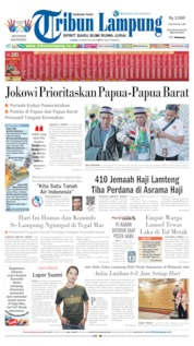 Tribun Lampung Cover 22 August 2019