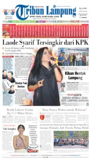 Tribun Lampung Cover 24 August 2019