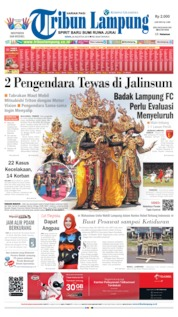 Tribun Lampung Cover 26 August 2019