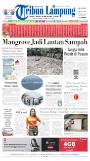 Tribun Lampung Cover 04 September 2019