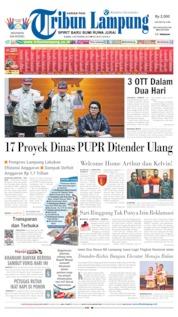 Tribun Lampung Cover 05 September 2019