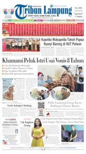 Tribun Lampung Cover 06 September 2019