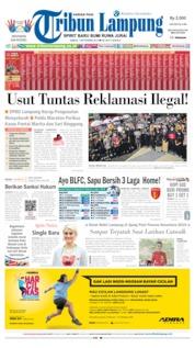 Tribun Lampung Cover 07 September 2019