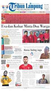Tribun Lampung Cover 10 September 2019