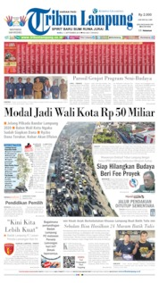 Tribun Lampung Cover 11 September 2019