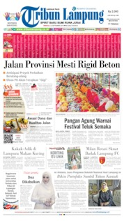 Cover Tribun Lampung 22 September 2019