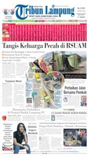 Cover Tribun Lampung 26 September 2019