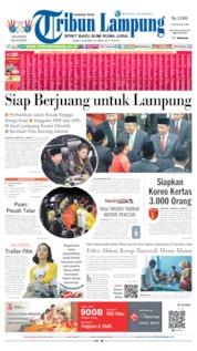 Cover Tribun Lampung 02 Oktober 2019