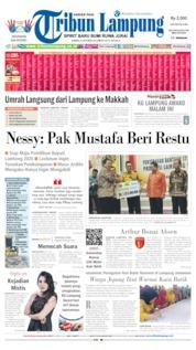 Cover Tribun Lampung 03 Oktober 2019