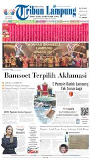 Cover Tribun Lampung 04 Oktober 2019