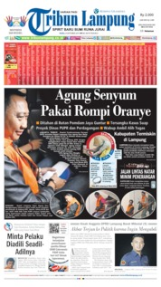 Tribun Lampung Cover 09 October 2019