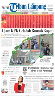 Tribun Lampung Cover 10 October 2019