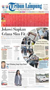 Tribun Lampung Cover 16 October 2019