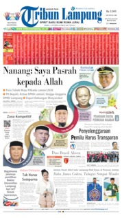 Tribun Lampung Cover 17 October 2019