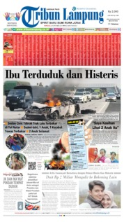 Tribun Lampung Cover 20 October 2019