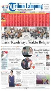 Tribun Lampung Cover 24 October 2019