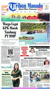 Tribun Manado Cover