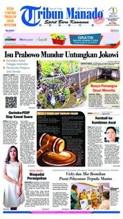 Cover Tribun Manado 15 Januari 2019