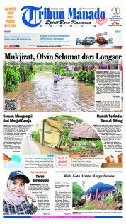 Cover Tribun Manado 16 Januari 2019