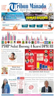Cover Tribun Manado 19 April 2019