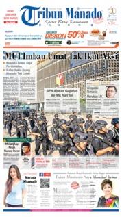 Tribun Manado Cover 24 May 2019