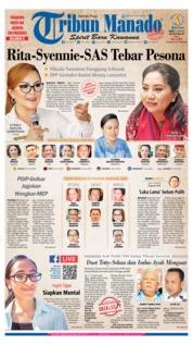 Tribun Manado Cover 12 June 2019