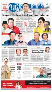 Tribun Manado Cover 13 June 2019