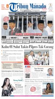 Tribun Manado Cover 14 June 2019