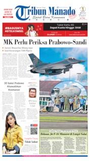 Tribun Manado Cover 17 June 2019