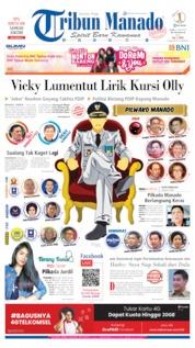 Cover Tribun Manado 19 Juni 2019
