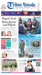 Cover Tribun Manado 20 Juni 2019