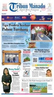 Cover Tribun Manado 23 Juni 2019