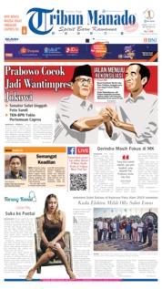 Cover Tribun Manado 24 Juni 2019