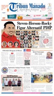 Cover Tribun Manado 25 Juni 2019