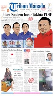 Cover Tribun Manado 26 Juni 2019