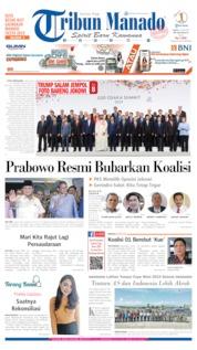 Cover Tribun Manado 29 Juni 2019