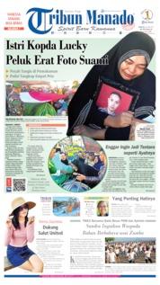 Cover Tribun Manado 30 Juni 2019