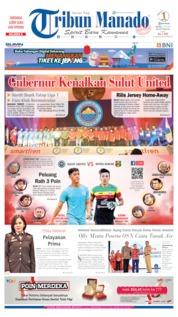 Cover Tribun Manado 02 Juli 2019