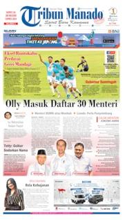 Cover Tribun Manado 03 Juli 2019