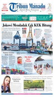 Cover Tribun Manado 04 Juli 2019